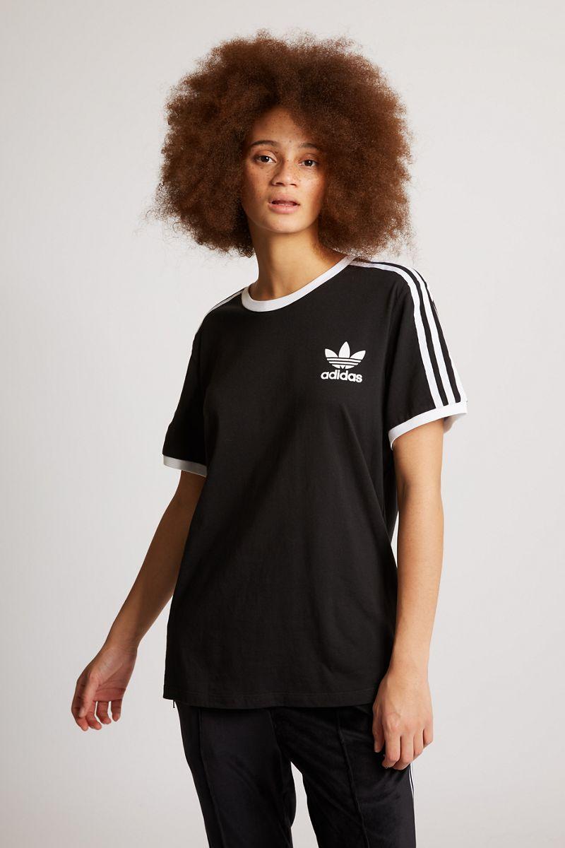 1d5c1b1ffb adidas Femme T-Shirts | 3 Stripes Noir € 119.60 € 57.04