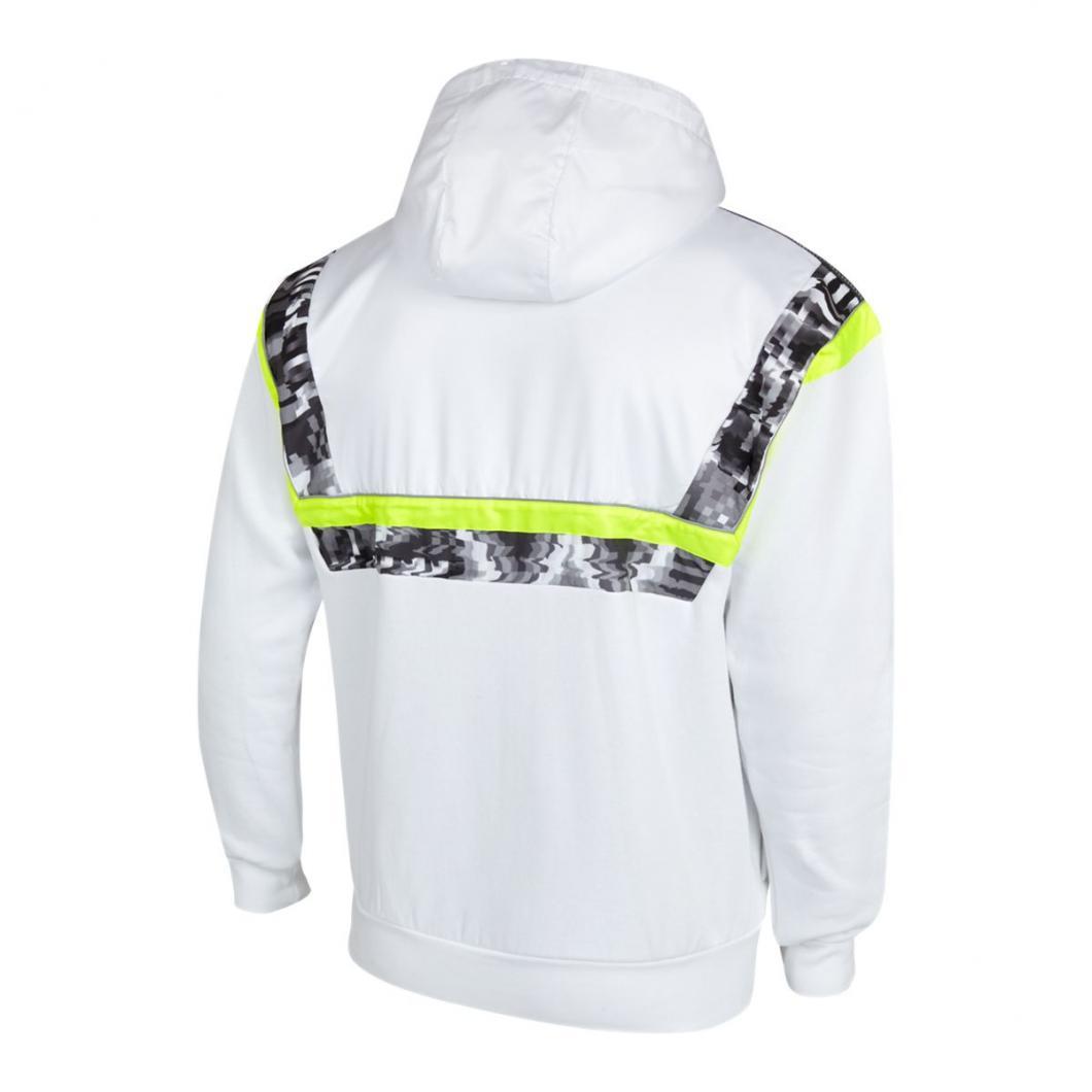 adidas Homme Hoodies | BR8 Full Zip Blanc Gris Jaune > Yumobiz