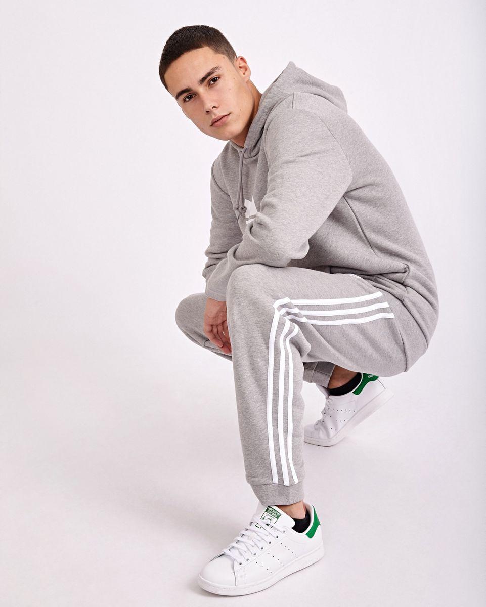 adidas Homme Pantalons   adicolor 3 Stripes Blanc Gris > Yumobiz