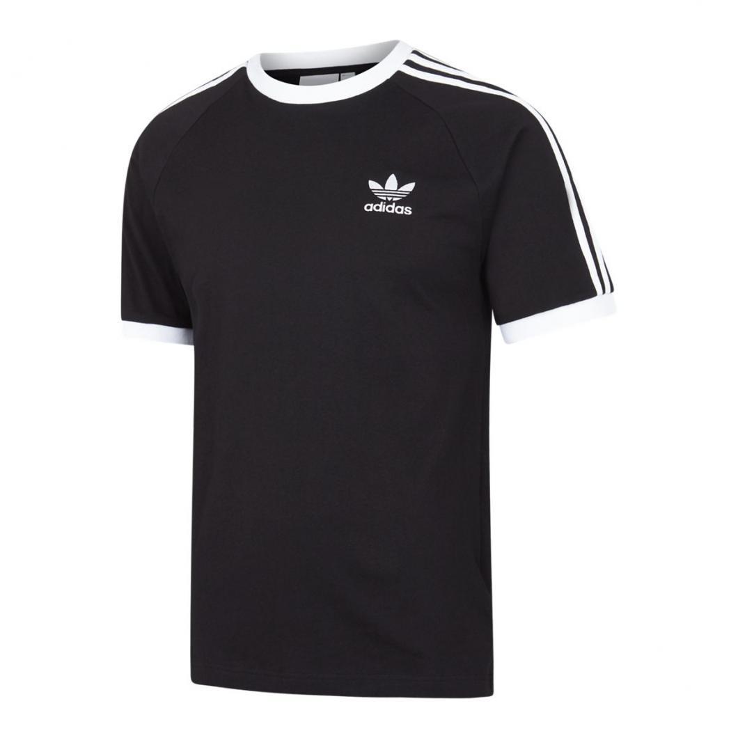 adidas Homme T Shirts   adicolor 3 Stripes Blanc Noir > Yumobiz