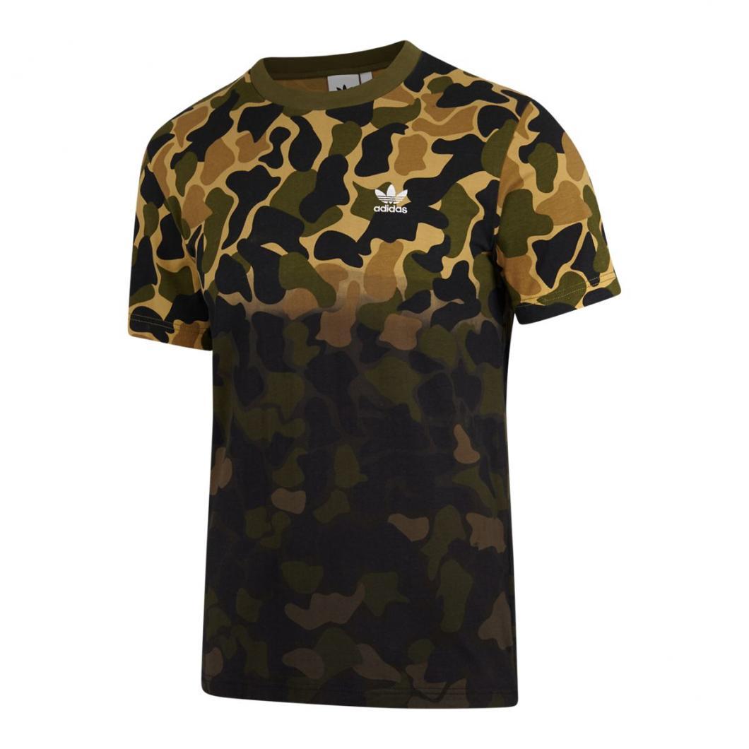 t shirt adidas vert homme