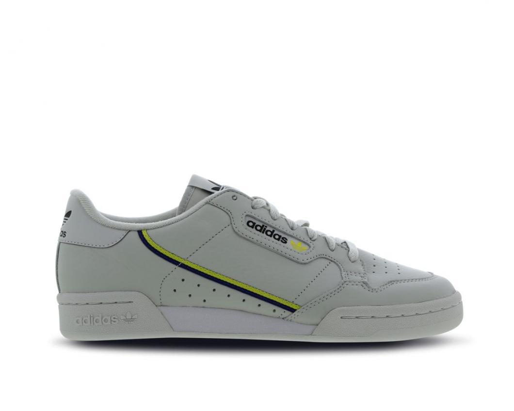 adidas Homme Tennis | Continental 80 Gris / Jaune > Yumobiz
