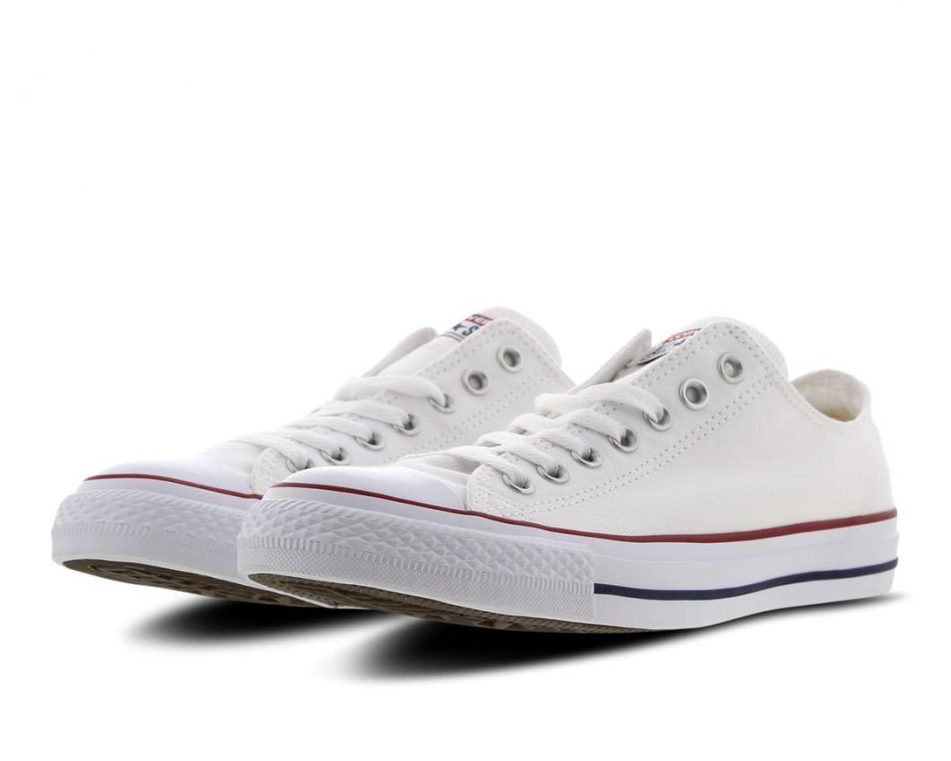 Converse Femme Canvas et Skate | Chuck Taylor All Star Ox Blanc > Yumobiz