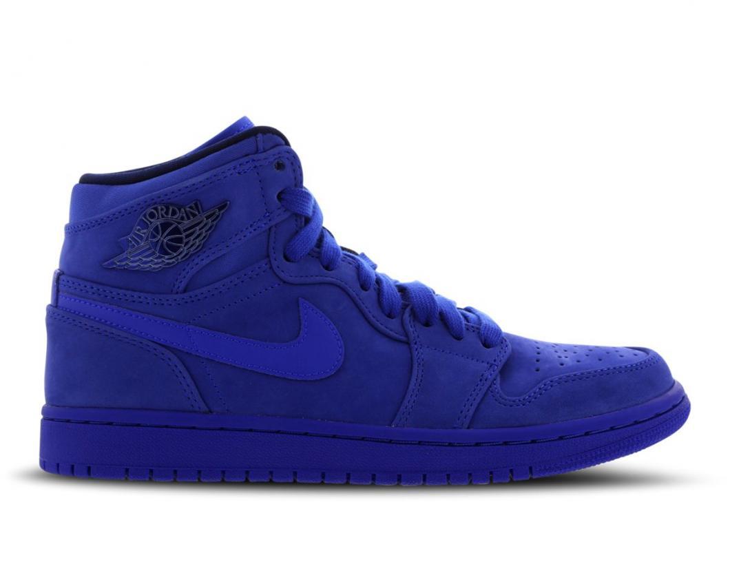 design de qualité 1239c fb346 Jordan Femme Basketball | 1 Retro High Premium Bleu > Yumobiz