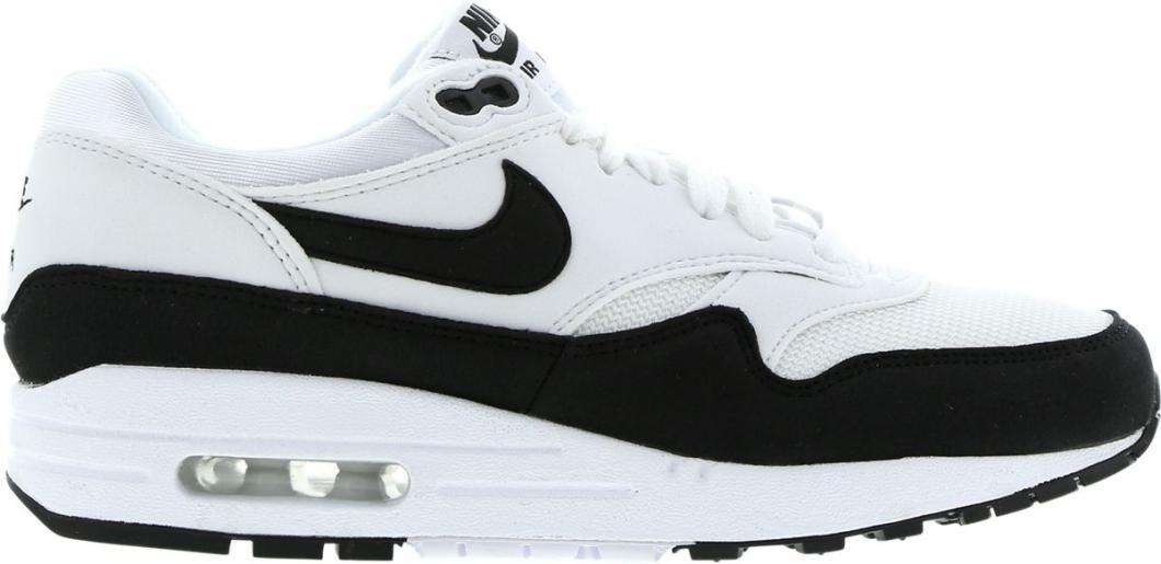 air max 1 blanche gris noir