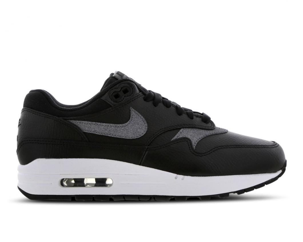 Nike Femme Running | Air Max 1 SE Blanc / Noir > Yumobiz