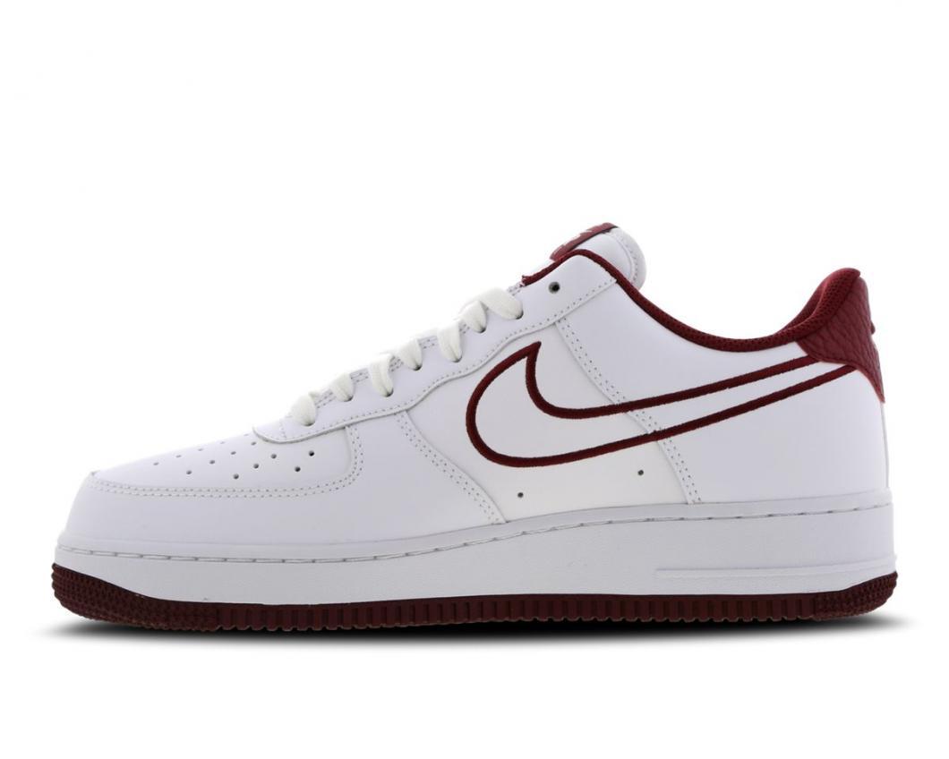 Nike Homme Basketball   Air Force 1 Low Blanc Rouge > Yumobiz