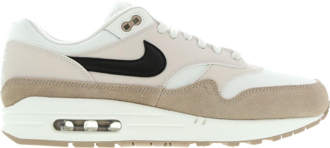 Nike Homme Running | Air Max 1 Blanc Noir Marron > Yumobiz