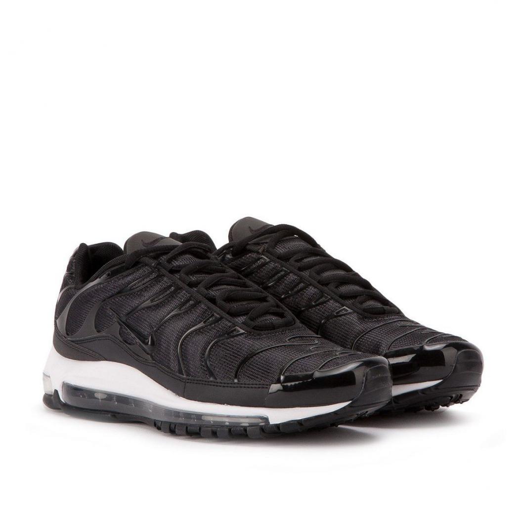 sports shoes a52e7 773a7 Nike Homme Running | Air Max 97/Tuned 1 Lab Hybrid Blanc / Noir > Yumobiz